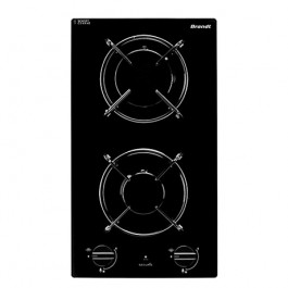 Brandt TG1120B 4600W 30cm Built-in 2-burners Town Gas Hob
