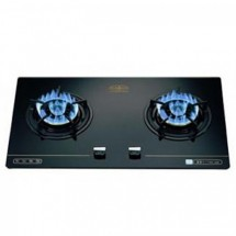 Hibachi HY-238LPG 70cm Built-in 2-burners LP Gas Hob