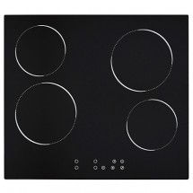 Baumatic BCP600 59cm Built-in 4-zone Electric Ceramic Hob