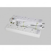 JEE 204A 13A 4 Way Switch Socket Outlet / Cable(3M)