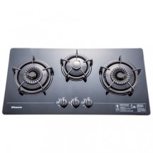 Rasonic RG-323GB 86cm Built-in 3-Burner LP Gas Hob