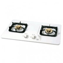Rinnai RB2B LPG 70 cm Built-in 2-Burner LP Gas Hob