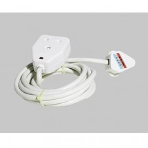 JEE 9762C 15A Socket Outlet W/Neon & Cable