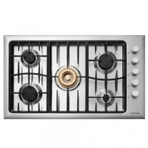 Fisher & Paykel CG905DWACX1 TG 90cm Built-in 5-burner Town Gas Hob
