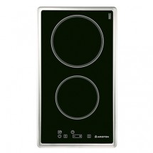 Ariston DK2KLIX 30cm Built-in 2-zone Infrared Electric Hob