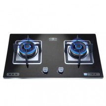 Hibachi HY-2628S/LPG 76cm Built-in 2-burner LP Gas Hob