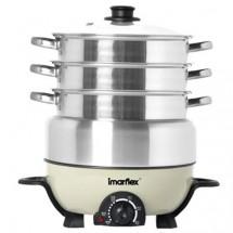Imarflex IMC-30D 3L Steam-Cooking pot