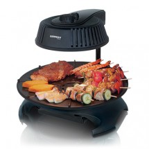 German Pool KQB-114 1400W 3D Infrared Korean Barbecue Grill