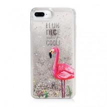 Monocozzi Pattern Lab手機殼 iPhone 8 Flamingo