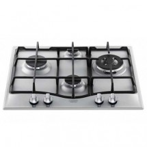 Ariston PC640HA 60cm Built-in 4-Burner Town Gas Hob (Stainless Steel)