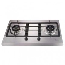 Rinnai RRDB62S LPG 2-Burner Built-in Hobs