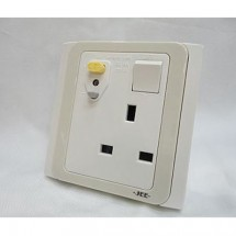 JEE S-0861 13A RCD Flush Socket
