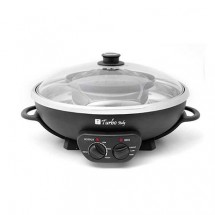Turbo Italy THP-888 2 in 1 Korean BBQ With Hotpot