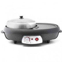 Turbo Italy THP-858 3.0Litres 2in1 Hotpot & Grill