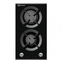 Bauknecht TGZ6260IN/TG 30cm Built-in Domino 2-zone Town Gas Hob