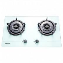 Rasonic 樂信 RG-223GW(T) 75厘米 嵌入式雙頭煤氣煮食爐