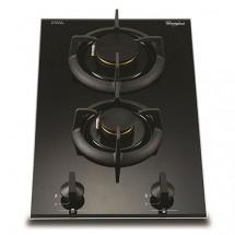 Whirlpool 惠而浦 AVK230/BT/P 30厘米 內置式雙頭石油氣煮食爐