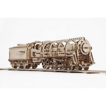 Ugears 460 Steam Locomotive with Tender 蒸氣火車