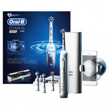 Oral-B GENIUS - G9000 充電電動牙刷(白色)